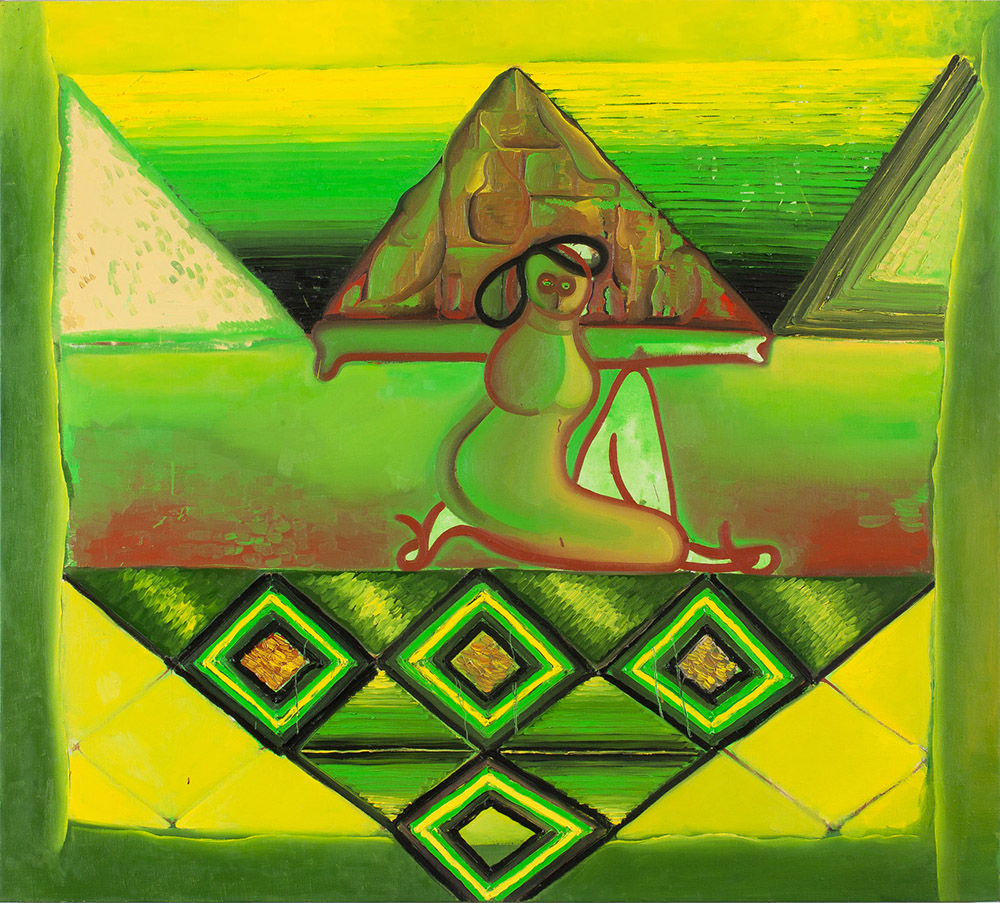 olej na plátně