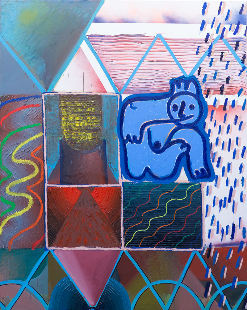 , olej na plátně, 2016