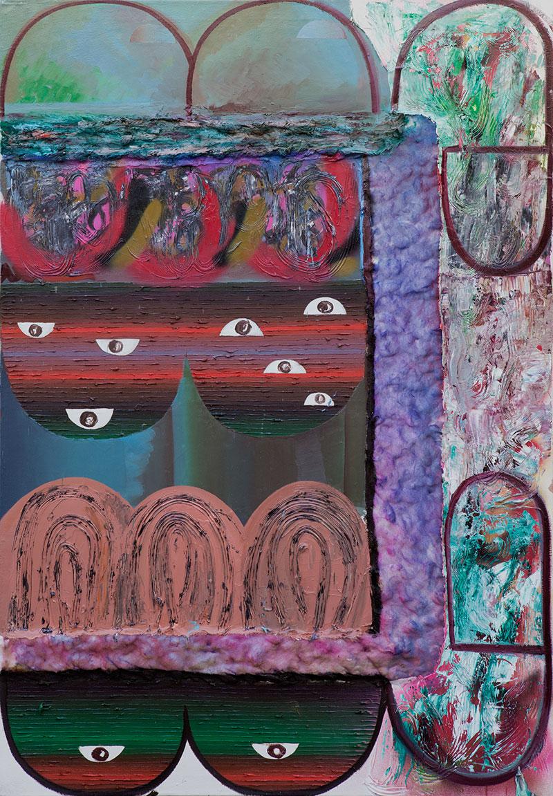 , mixed media on canvas,  2016