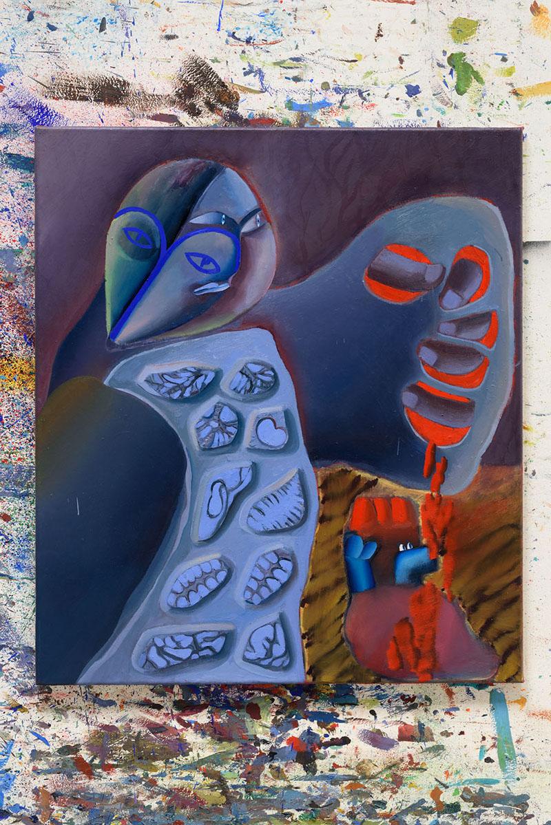 olej na plátně, 2018